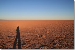 Ombre dans le désert - La vie est belle